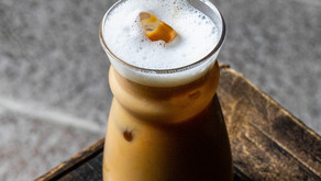 Cocktail: Frothy coffee
