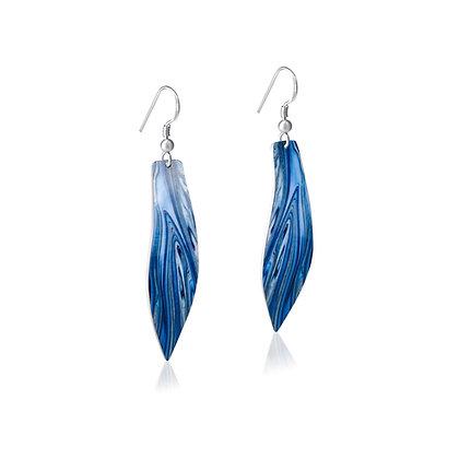 Ocean Wave Earrings