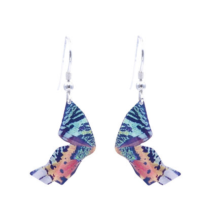 Madagascar Sunset Butterfly Earring