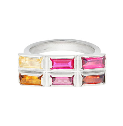 Colour Wash Ring - Fire