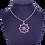 Thumbnail: Alhambra Pendant, Rhodolite and Mandarin Garnet