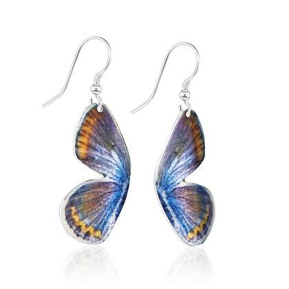 Karner Blue Butterfly Earrings