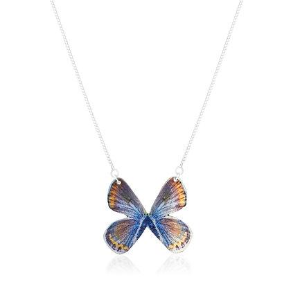 Karner Blue Butterfly Necklace