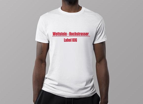 Standard T-Shirt bedruck