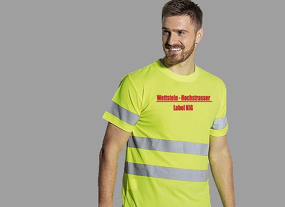 Sicherheits-T-Shirt bestickt