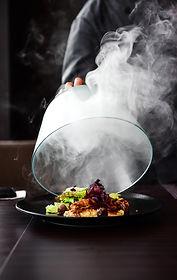 Hot Gourmet-Küche Mahlzeit