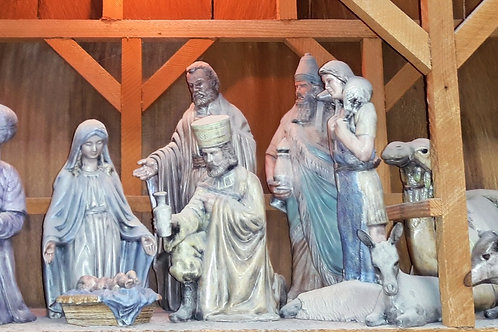Ceramic Duncan Nativity