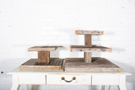 Rustic Cake Stands $20 and $25