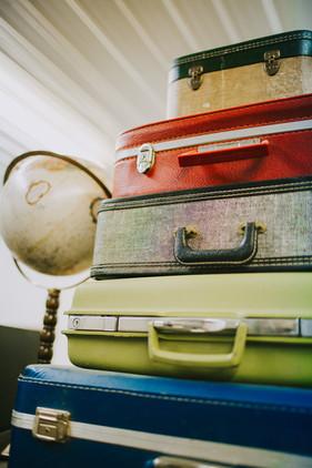 Vintage Suitcases $6 Each