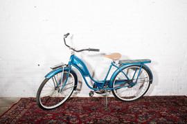 Blue Vintage Bike $20