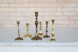 Brass Candlesticks $2 Each