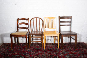 Assorted Wood Chairs $3 Each