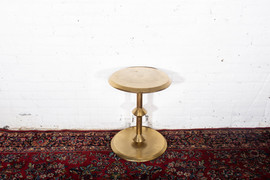 Gold End Table - 2 $20 Each