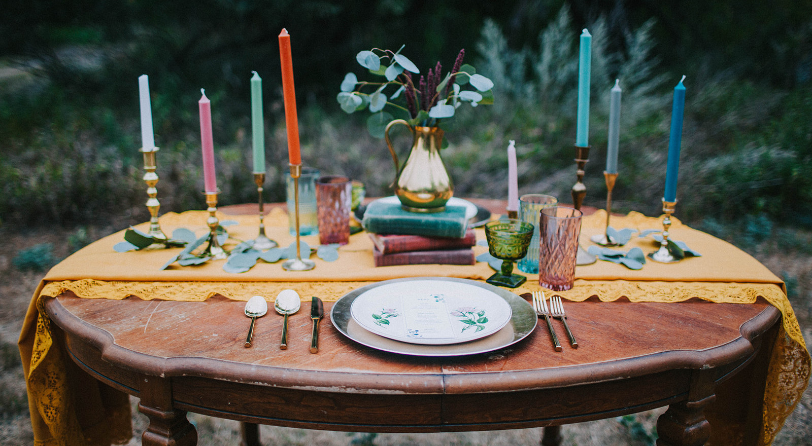 Sweetheart Table and Small Details