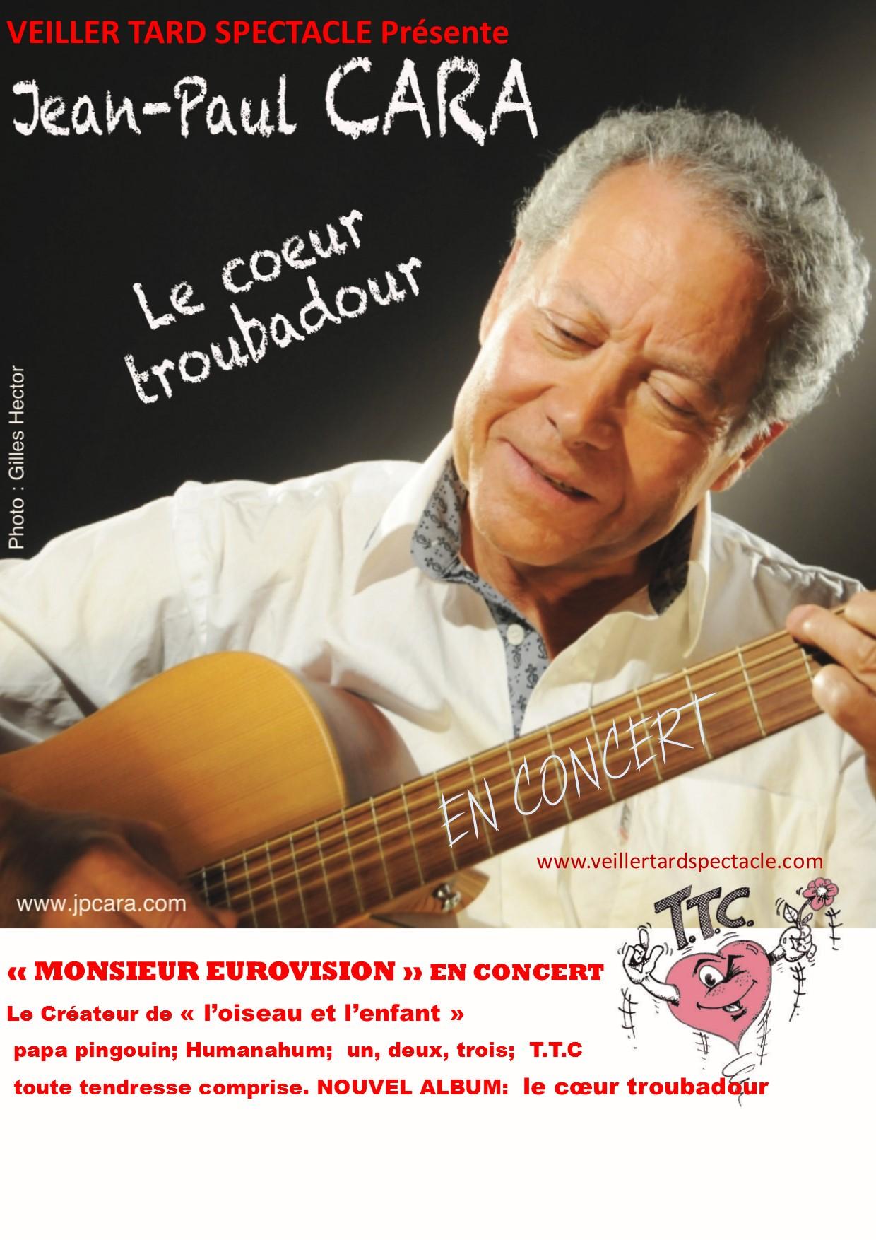 concert le coeur troubadour
