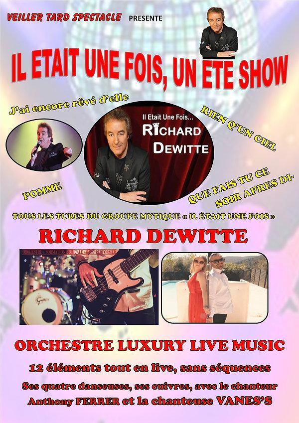 Richard DEWITTE et FERRER Orchestre 2020
