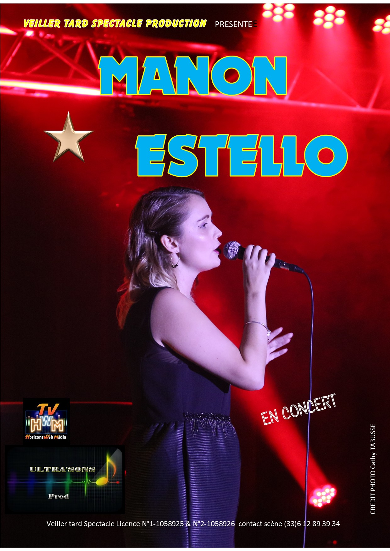 Manon Estello carte postale