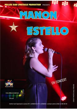 Manon Estello carte postale