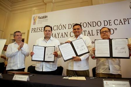 Firma de convenio Yucatán - Mayan