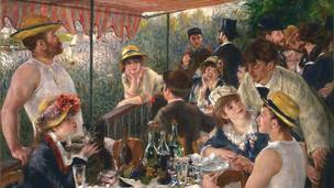 סעודת השייטים, פייר אוגוסט רנואר, שמן על בד, 1881