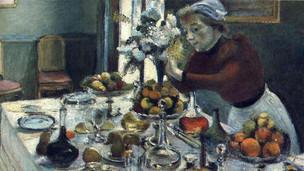 שולחן ארוחת הערב, אנרי מאטיס, שמן על בד, 1896-7