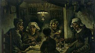 אוכלי תפוחי האדמה, וינסנט ואן גוך, שמן על בד, 1885