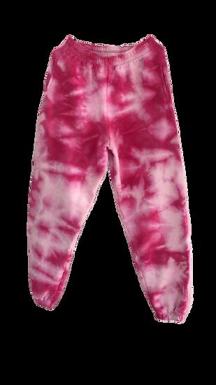 Fuscia Tie Dye Pants