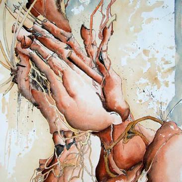 Betende Hände nach Dürer