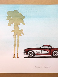 Chevrolet Corvette C1 Sunset Blvd