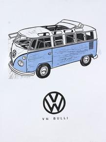 Bulli T1 hellblau