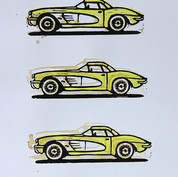 Corvette C1 Panama Yellow