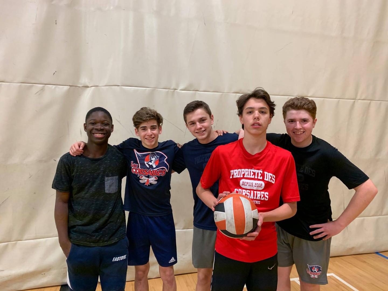 Programmes Arts-Langues-Sports (PALS) - Équipe de volleyball
