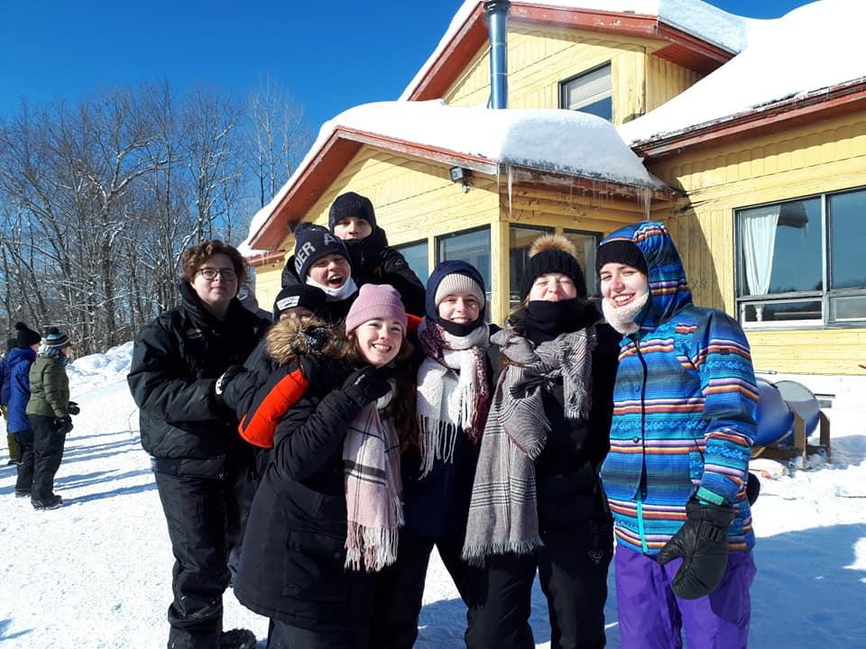 École Pointe-Lévy - Photo de groupe en hivers