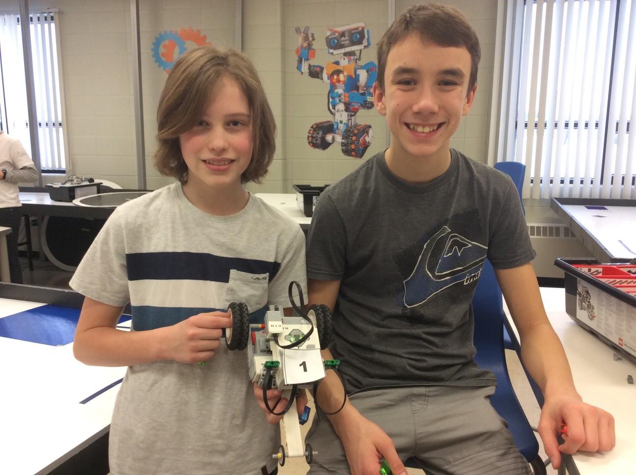 École secondaire de l'Horizon - Robotique