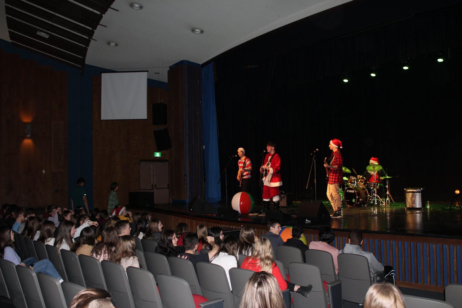 École secondaire les Etchemins (ESLE) - Concert à l'auditorium