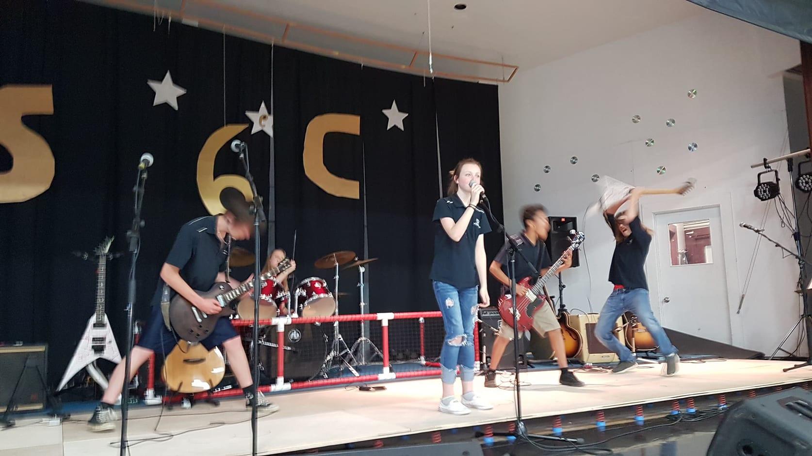 École secondaire Champagnat, Guillaume-Couture - Photo de concert