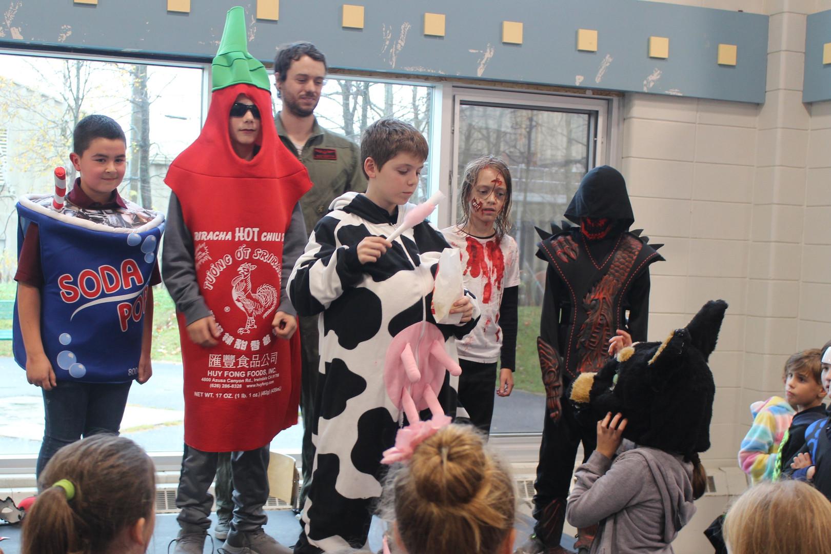 École de la Clé-du-Boisé - Photo de l'Halloween