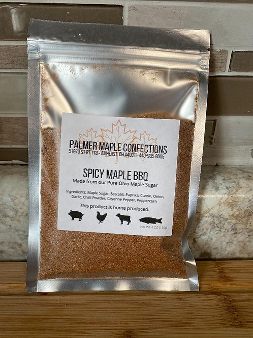 Spicy Maple BBQ - Palmer Maple Confections