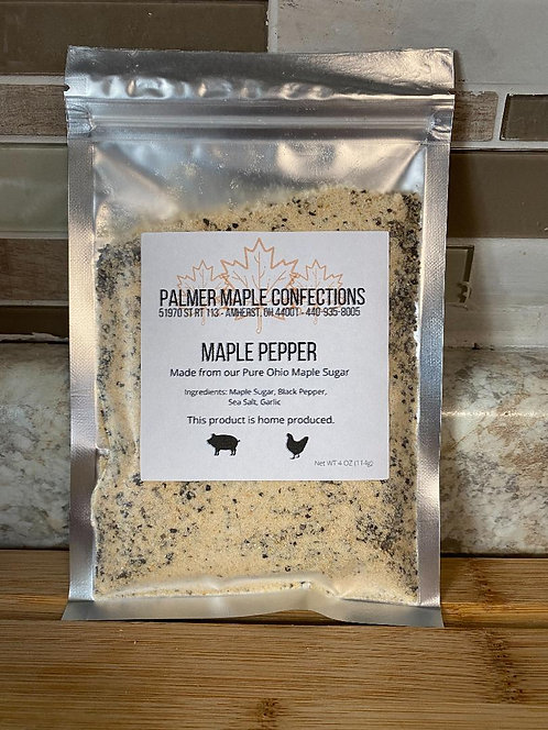 Maple Pepper - Palmer Maple Confections