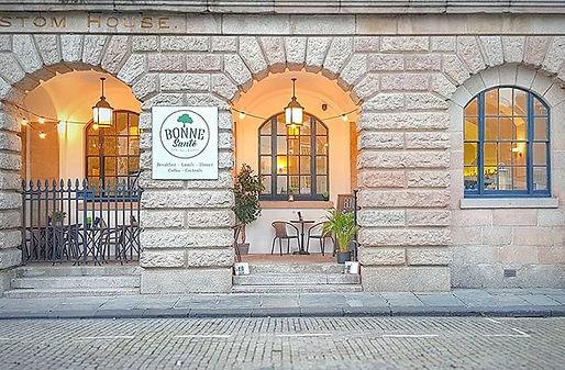 Our beautiful home 🏛__Bonne Santé Plymouth _The Custom House _Barbican _Plymouth _www.bon