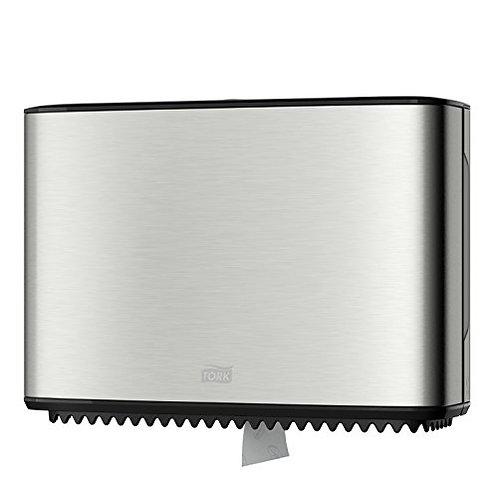 Despachador de Papel Higiénico  Mini Twin de Acero Inoxidable AP460006 – IMAGE D