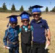 Three preschool boys