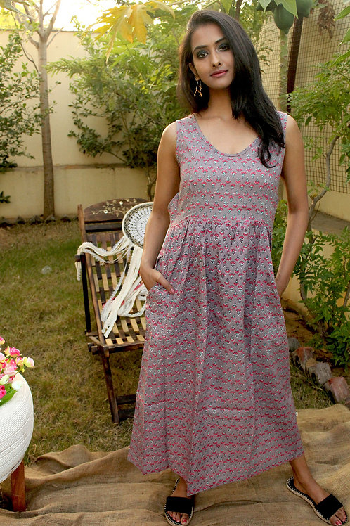 Light Purple Floral Dress