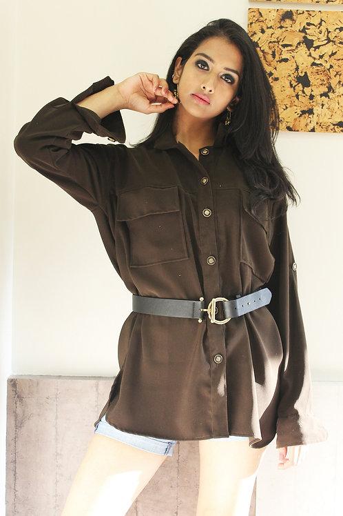 Dark Brown Shirt