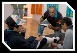Darren Knight - 1st Aid training