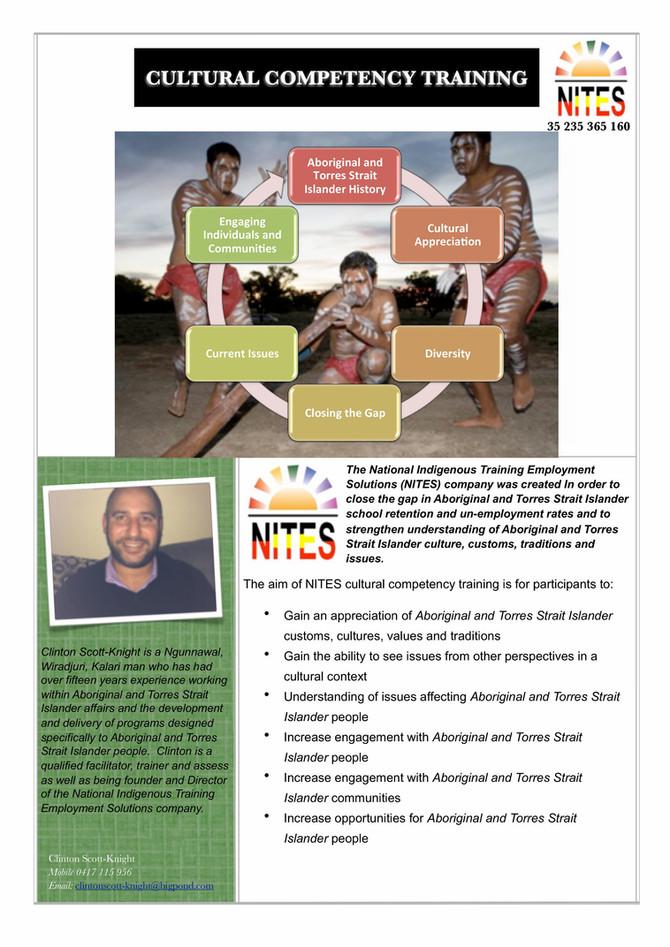 NITES Cultural Appreciation Training