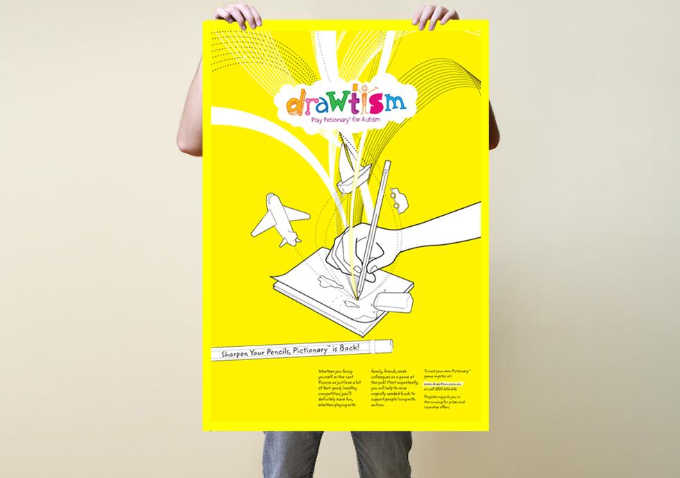 Drawtism Poster - 2007