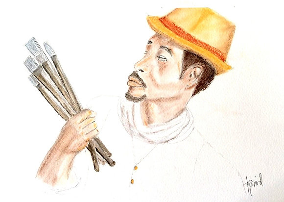 Man and His Brushes