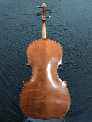 """'Cello modeled after """"Jennifer Kloetzel's"""" of Cyprus String Quartet attributed to  Hieronymus Amati 2nd 1701"""