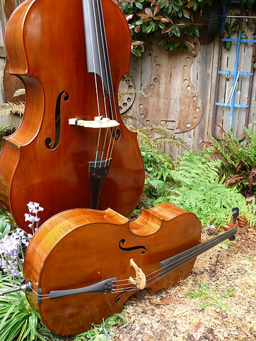 ©2020 by Seth Kimmel: Maker of real wood double bass violins and 'cellos; Made in America in Eugene, Oregon.